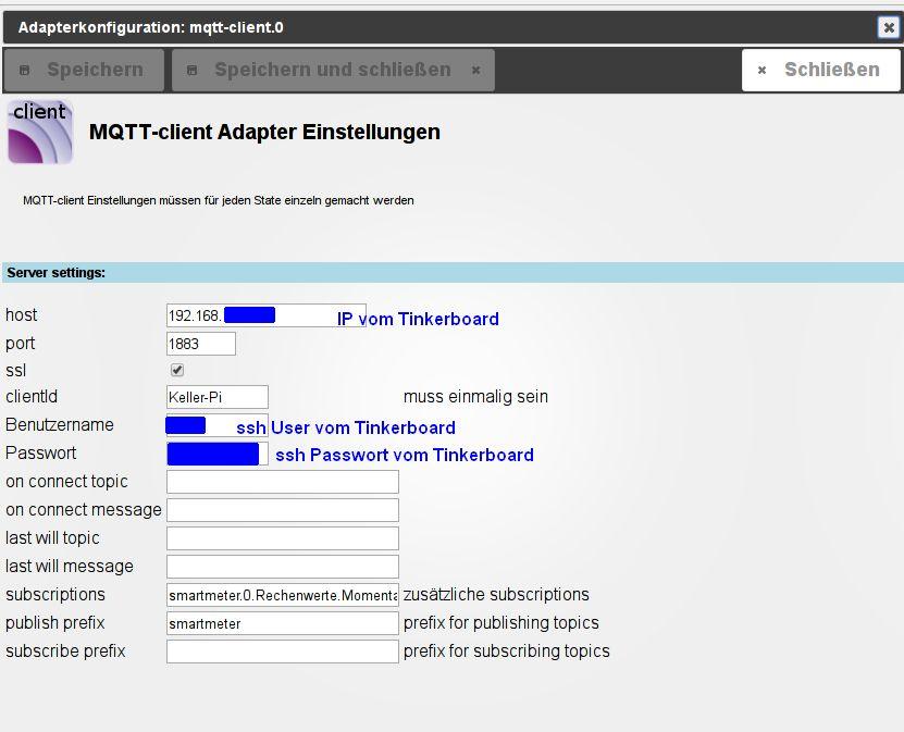 MQTT-Adapter - Grundsatzfragen