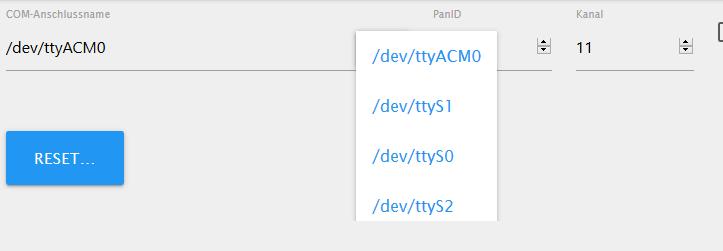 Error: spawn udevadm ENOENT Zigbee Adapter