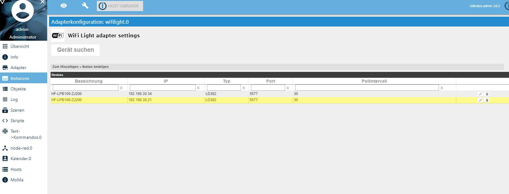 Neuer Adapter] Visualisierung iQontrol