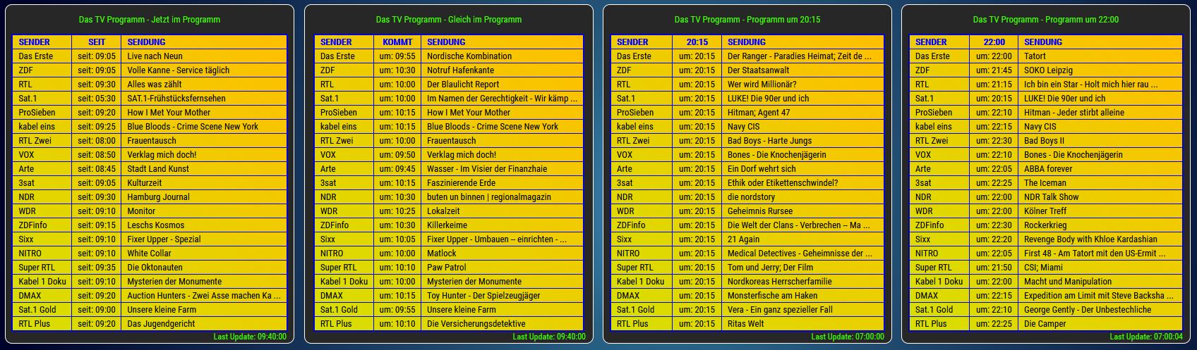 Tv programm gleich