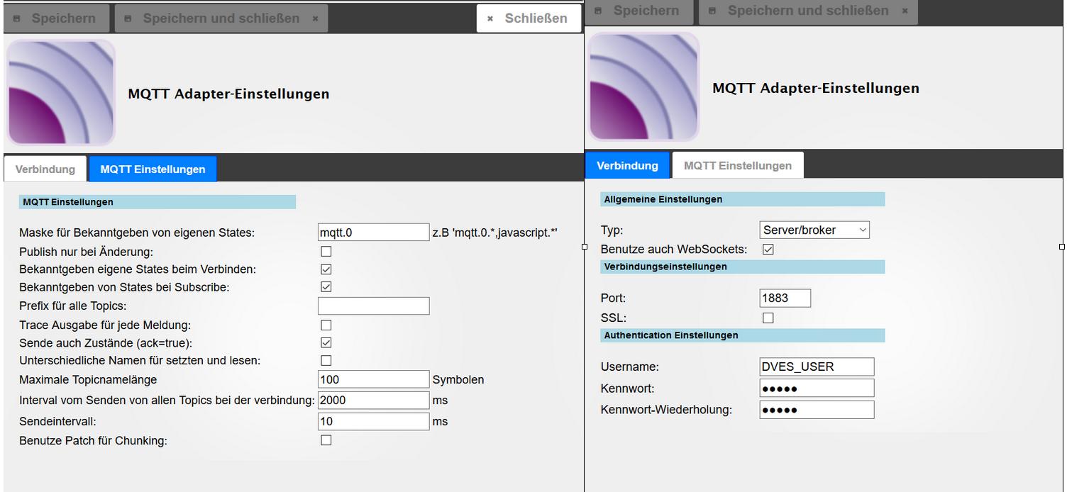 Sonoff (Tasmota) steueren über MQTT