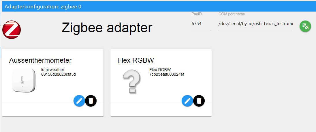 Aufruf] ZigBee CC253x Adapter